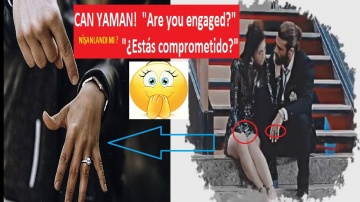 Can Yaman, Is He Engaged? What did he answer on the television show he attended? Description ?