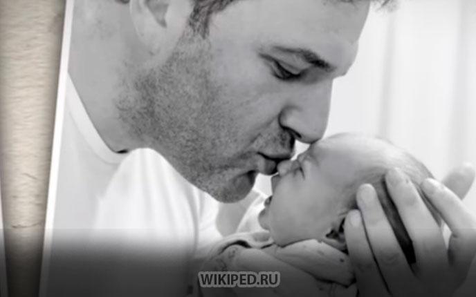 Максим Виторган и его сын