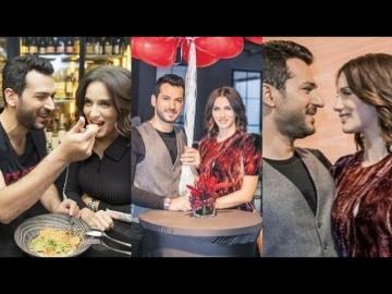 Мурат Йылдырым впервые кормит Имане Эльбани публично в ресторане Очень мило смотреть онлайн