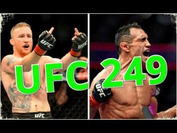 Тони Фергюсон vs Джастин Гэтжи. Прогноз на бой турнира UFC 249