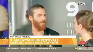 Can Yaman Malatya Festival Interview